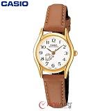 [카시오] CASIO LTP-1094Q-7B8 여성 가죽시계 (고양이)