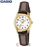 [카시오] CASIO LTP-1094Q-7B4 여성 가죽시계 (별초침)