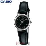 [카시오] CASIO LTP-1095E-1A 여성 가죽시계