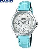 [카시오] CASIO LTP-V300L-2A 여성 가죽시계