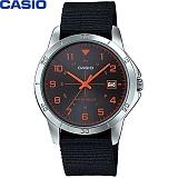 [카시오] CASIO MTP-V008B-1B 남성 나토밴드 시계