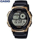 [카시오] CASIO 10년전지 AE-1000W-1A3 남성 군인 전자시계