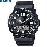 [카시오] CASIO 10년전지 AEQ-100W-1A 남성 군대 군인시계