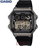 [카시오] CASIO 10년전지 AE-1300WH-8A 남성 군인 전자시계