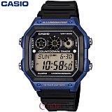 [카시오] CASIO 10년전지 AE-1300WH-2A 남성 군인 전자시계