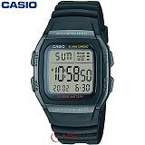 [카시오] CASIO 10년전지 W-96H-1B 남성 군인 전자시계