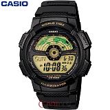 [카시오] CASIO 10년전지 AE-1100W-1B 남성 군인 전자시계