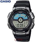 [카시오] CASIO 10년전지 AE-1100W-1A 남성 군인 전자시계