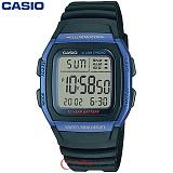 [카시오] CASIO 10년전지 W-96H-2A 남성 군인 전자시계