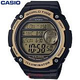 [카시오] CASIO 10년전지 AE-3000W-9A 남성 군인 전자시계
