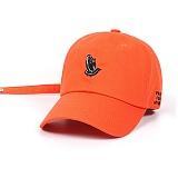 STIGMA - PRAY BASEBALL CAP ORANGE 야구모자 볼캡