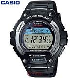 카시오 W-S220-1A 스포츠 마라톤 전자시계