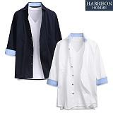 [해리슨] 무지 7부셔츠 DE1021