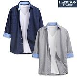 [해리슨] 타임 7부셔츠 DE1032