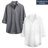 [해리슨] 제트헨리넥 7부셔츠 DE1034