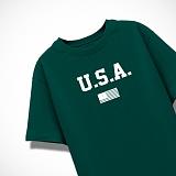 [엑스엑스아이엑스]XXIX - USA - 루즈핏 반팔 - 그린