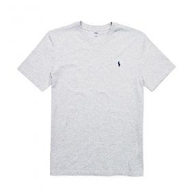 폴로랄프로렌 맨즈 V넥 반팔 티셔츠 033 로렌스그레이(그레이로고) 남녀공용 Polo Ralphlauren 정품 국내배송