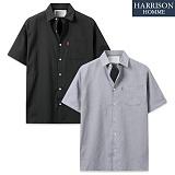 [해리슨] 리얼 옥스포드 반팔 셔츠 MET1484
