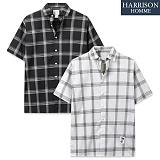 [해리슨] 13번 체크 반팔 셔츠 MET1489