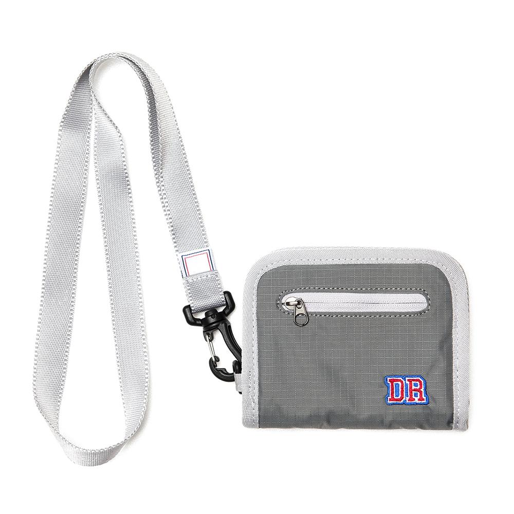 [드라이프]DRIFE - ZIPPER WALLET - GREY 지퍼 지갑 반지갑