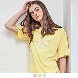 [무아무아]MUAHMUAH - YOUNG PASTEL T-SHIRTS 영 파스텔 티셔츠 반팔티