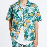 [모니즈] 하와이안 마린 반팔 셔츠 (2color) SHT625