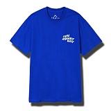 뉴해빗[7nst-02] wave symbol 반팔티 - 블루