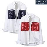 [해리슨] 긴팔 배색 89 셔츠 MSS1380