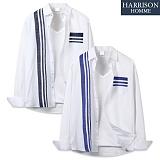 [해리슨] 긴팔 배색 포켓 줄지 셔츠 MSS1382