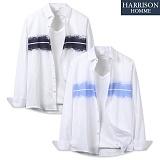 [해리슨] 긴팔 배색 나염 셔츠 MSS1384
