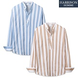 [해리슨] 긴팔 줄지 차이나 셔츠 MSS1387