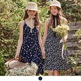 [무아무아]MUAHMUAH - FLOWERS SLIP DRESS 플라워 슬립 드레스 원피스
