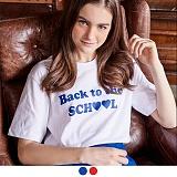 [무아무아]MUAHMUAH - BACK TO THE SCHOOL T-SHIRTS 백투더스쿨 티셔츠 반팔티 [7월21일예약배송]