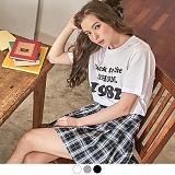 [무아무아]MUAHMUAH - SCHOOL 1982 T-SHIRTS 스쿨1982 티셔츠 반팔티