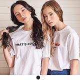 [무아무아]MUAHMUAH - THATS COOL T-SHIRTS 댓츠쿨 티셔츠 반팔티