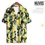 뉴비스 - 바나나나뭇잎 하와이안 반팔셔츠 (RT253SH)