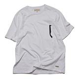 프랭크도미닉 - 선글라스 포켓 티셔츠(화이트)