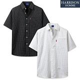 [해리슨] TR 체크 반팔 셔츠 RDW1459