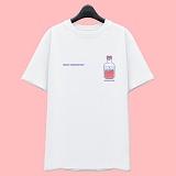 [슈퍼레이티브] superlative [7J5036] LOVE POTION 반팔 티셔츠 - 반팔 티셔츠 - 화이트