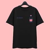 [슈퍼레이티브] superlative [7J5036] LOVE POTION 반팔 티셔츠 - 반팔 티셔츠 - 블랙