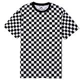 뉴해빗[N] - 레이싱 체커 보더티셔츠