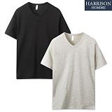 [해리슨] 기본 브이넥 반팔 티셔츠 MJB1281
