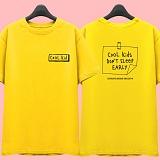 [슈퍼레이티브] superlative [7J5019] COOL KIDS 반팔 티셔츠 - 반팔 티셔츠 - 옐로우