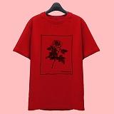 [슈퍼레이티브] superlative [7J5014] ROSE 반팔 티셔츠 - 반팔 티셔츠 - 레드