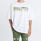 [모니즈] 로고 솔벤 반팔 티셔츠 (2color) TSB123
