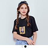 [무아무아]MUAHMUAH - PORTRAIT T-SHIRTS 포트레이트 티셔츠 반팔티