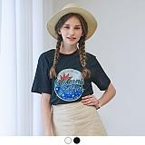 [무아무아]MUAHMUAH - CALIFORNIA SUNRISE T-SHIRTS 캘리포니아 선라이즈 티셔츠 반팔티