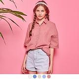 [무아무아]MUAHMUAH - ESSENTIAL HALF SLEEVE SHIRTS 에센셜 하프 슬리브 셔츠