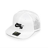 [나이키]NIKE - SB NK AERO CAP PRO 629243-103 (WHITE/BLACK) 드라이핏 로고 스냅백