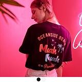 [무아무아]MUAHMUAH - OCEANSIDE BEACH T-SHIRTS 오션사이드 비치 티셔츠 반팔티